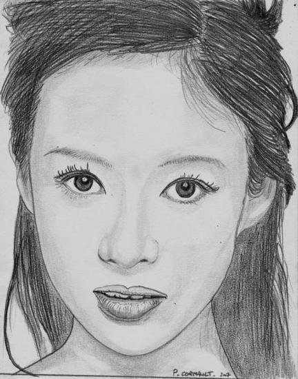 Zhang Ziyi by Philippe